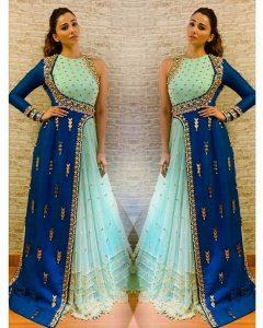 Latest Designer Party Wear Stylish Gown  Indische