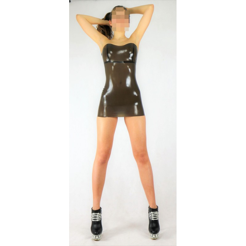Latex Minikleid Bustierkleid • Restless Rubber Latex Design