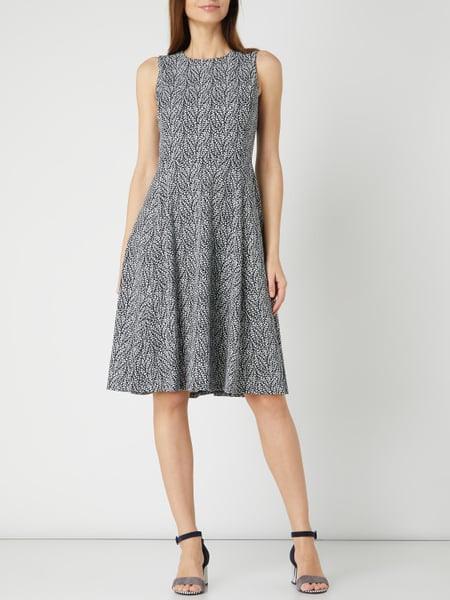Lauren Ralph Lauren Kleid Mit Floralem Muster In Blau