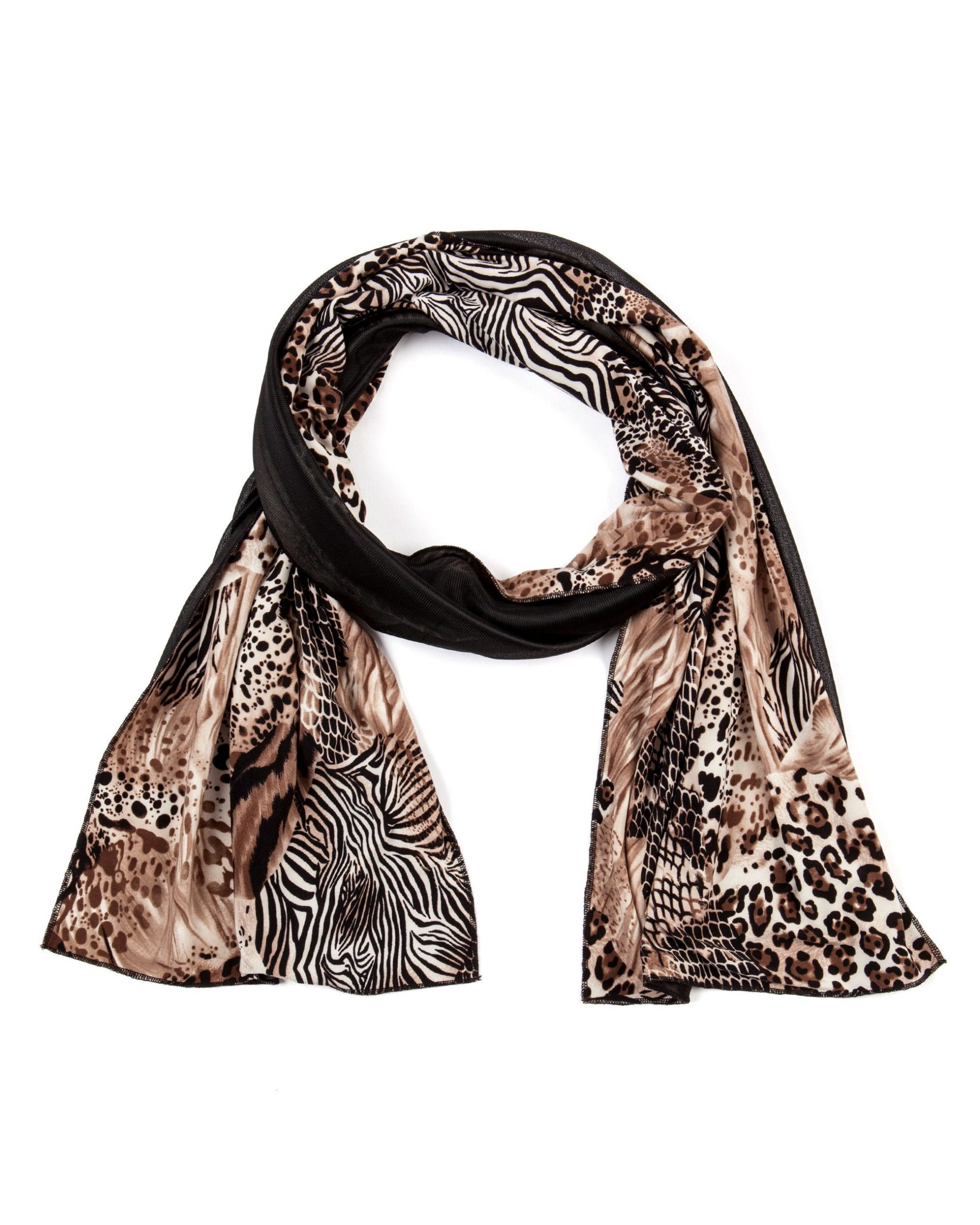 Lavelle  Women's Fashion  Schal Mit Animalmixprint