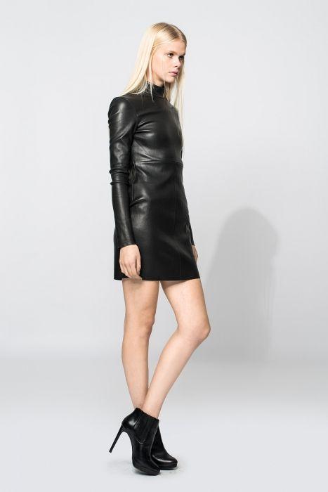 Lederkleid Dido In Schwarz Für Damen 1  Leather Fashion