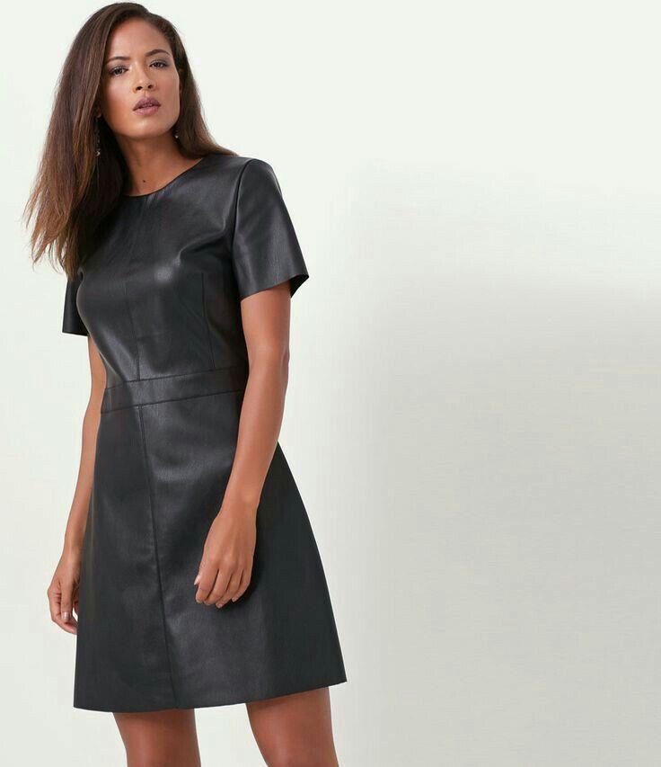 Lederlady  Kleidung Kleider Schöne Frauen