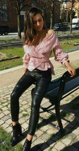 Lederlady  Leder Leggings Lederbekleidung Bekleidung