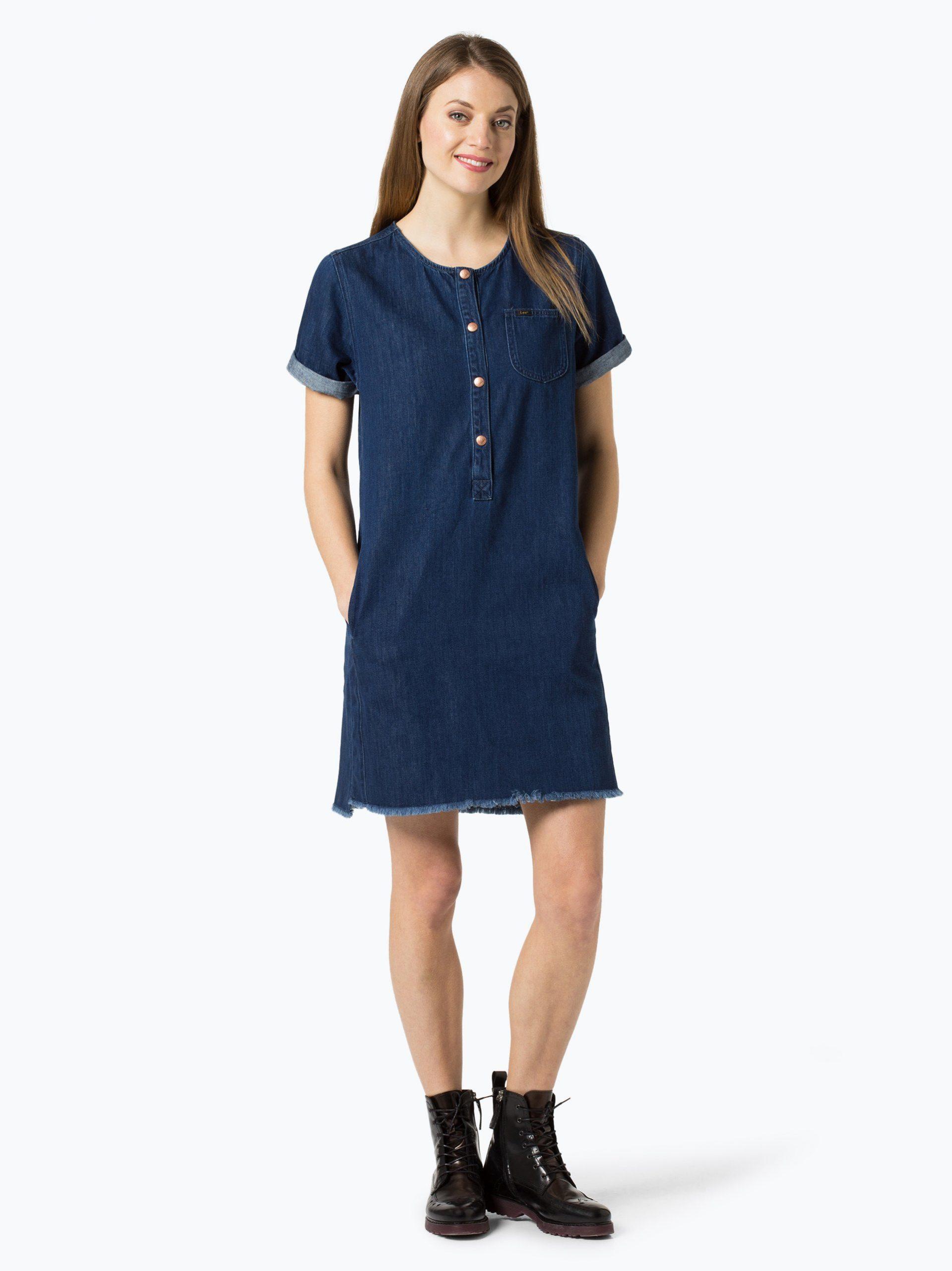 Lee Damen Jeanskleid Online Kaufen  Peekundcloppenburgde