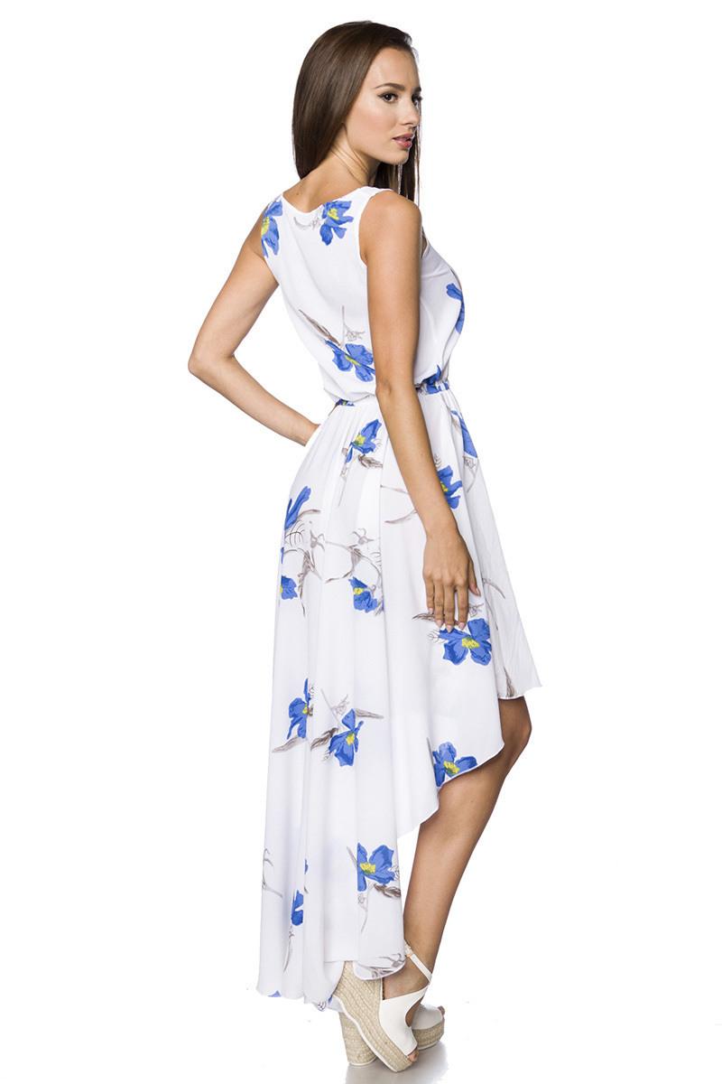 Leichtes Sommerkleid Mit Blumen Verziert  Clubwear/Party