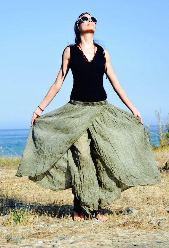 Leinen Hose Leinen Kleidung Natürliche Kleidung Öko
