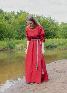 Leinen Kleid 100  Leinen Unterkleid Wikinger Kleidung  Etsy
