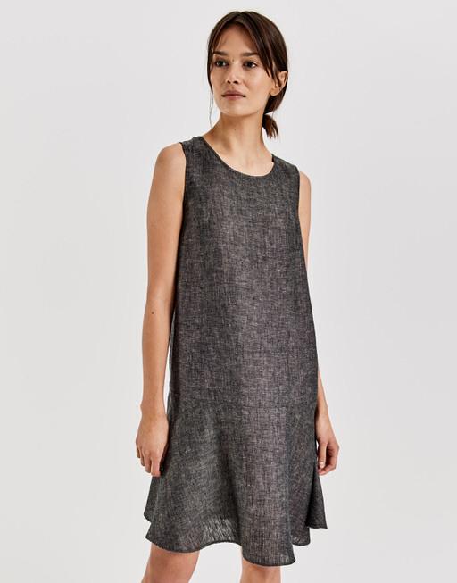 Leinenkleid Woline Grün Online Bestellen  Opus Online Shop