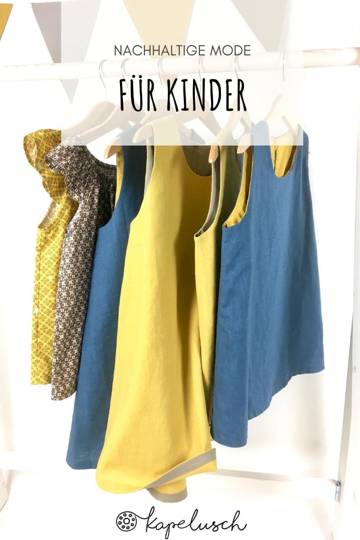 Leinenkleider Für Kinder In 2020  Leinenkleid