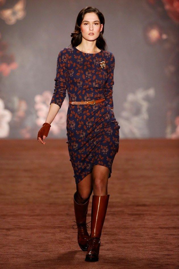 Lena Hoschek Fashion Week Berlin Januar 2016  Mode Herbst