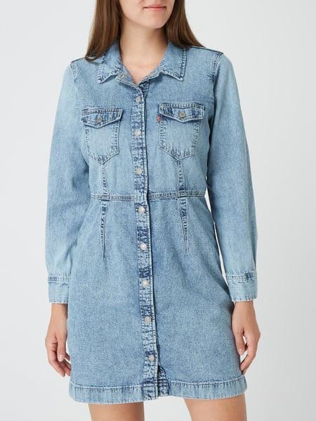 Levi'S® Jeanskleid Aus Baumwolle Modell 'Ellie' In Blau