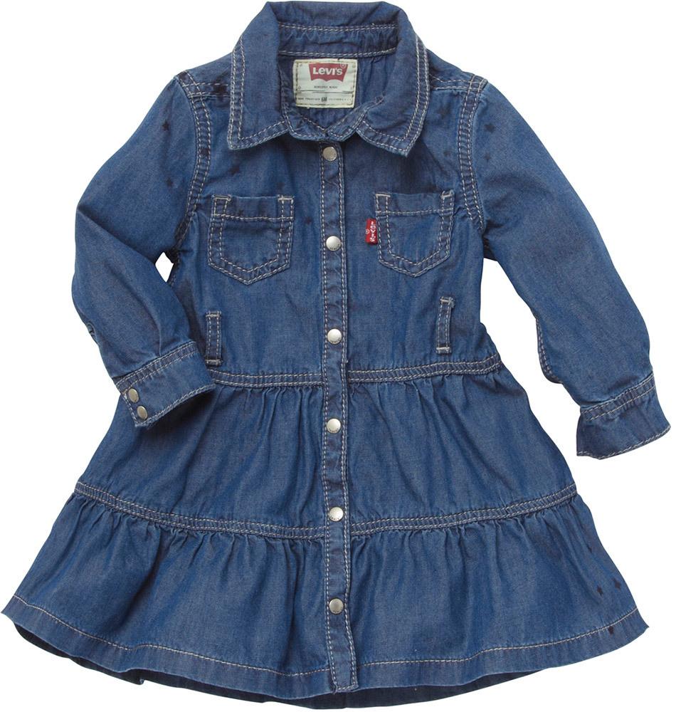 Levis Jeanskleid Ne30504 » Mädchenkleider  Jetzt Online