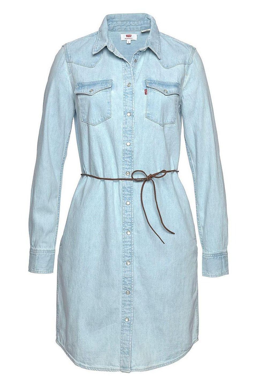 Levi'S® Jeanskleid »Ultimate Western Dress« Set Mit