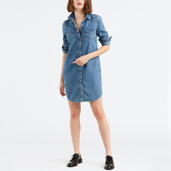 Levi'S Jeanskleid Ultimate Western Dress Xl