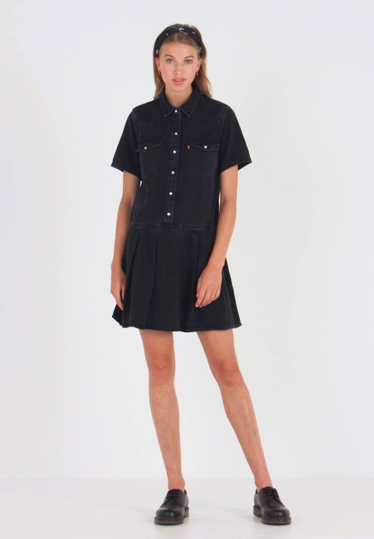 Levi'S® Mirai Western Dress  Jeanskleid  Black Sheep