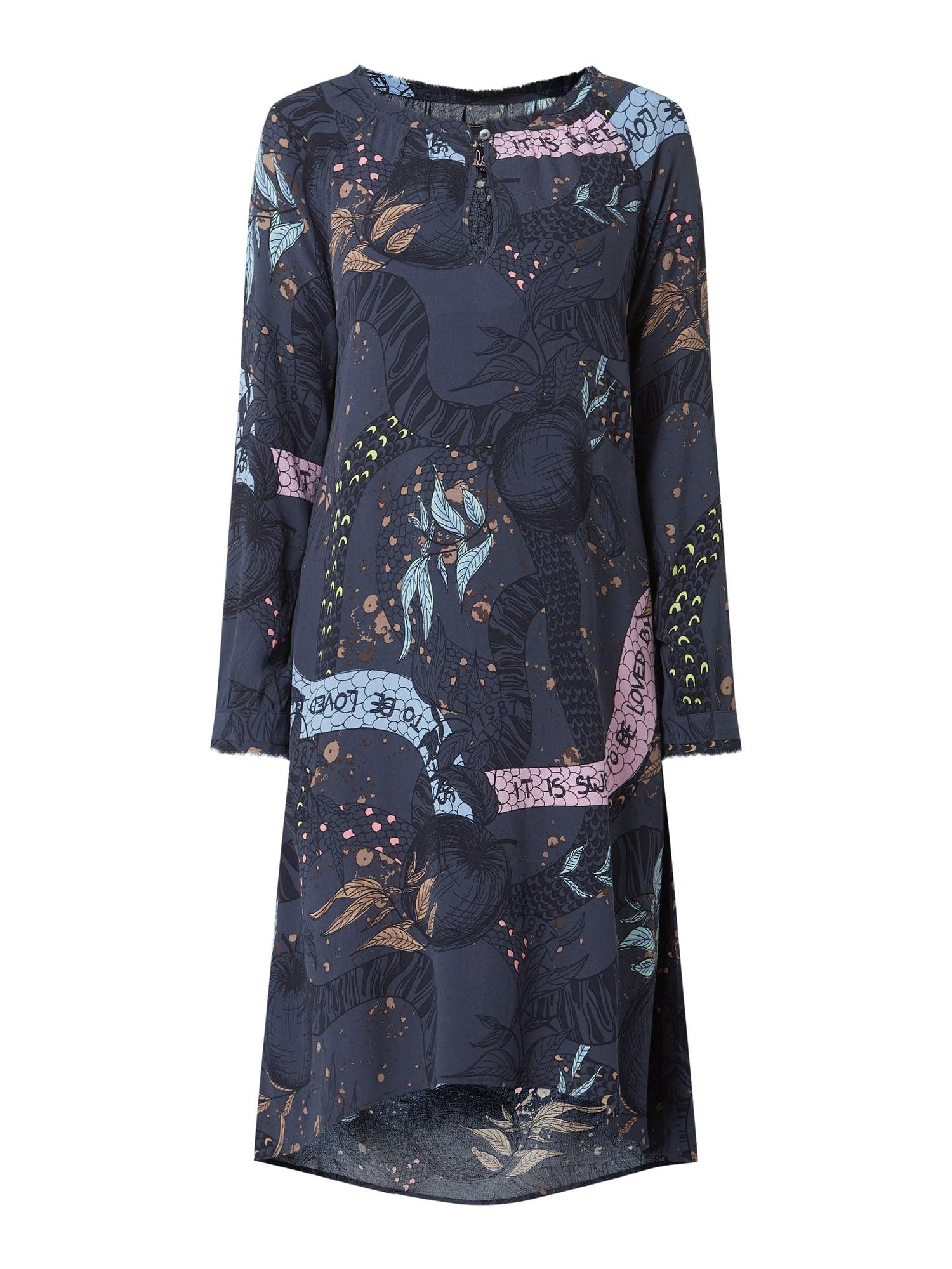 Lieblingsstück Kleid Aus Viskose Modell 'Rose' In Blau