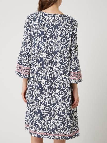 Lieblingsstück Kleid Mit Allovermuster Modell 'Rahell' In