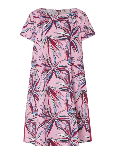 Lieblingsstück Kleid Mit Floralem Muster In Rosé Online