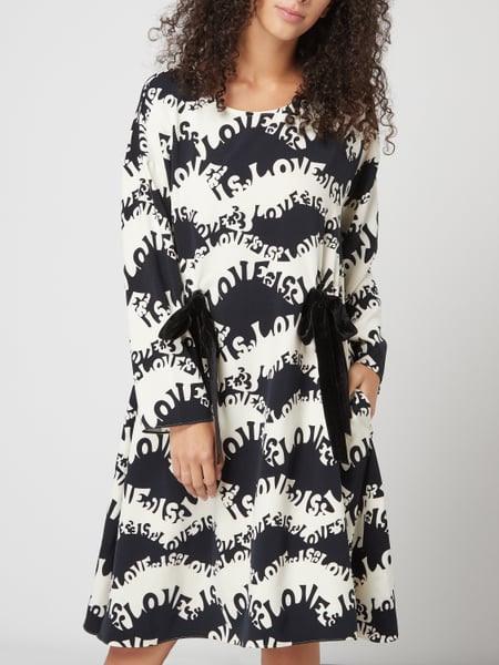 Lieblingsstück Kleid Mit Messageprints In Weiß Online