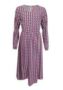 Lieblingsstück Langarm Kleid Estefanial Rundhals Muster