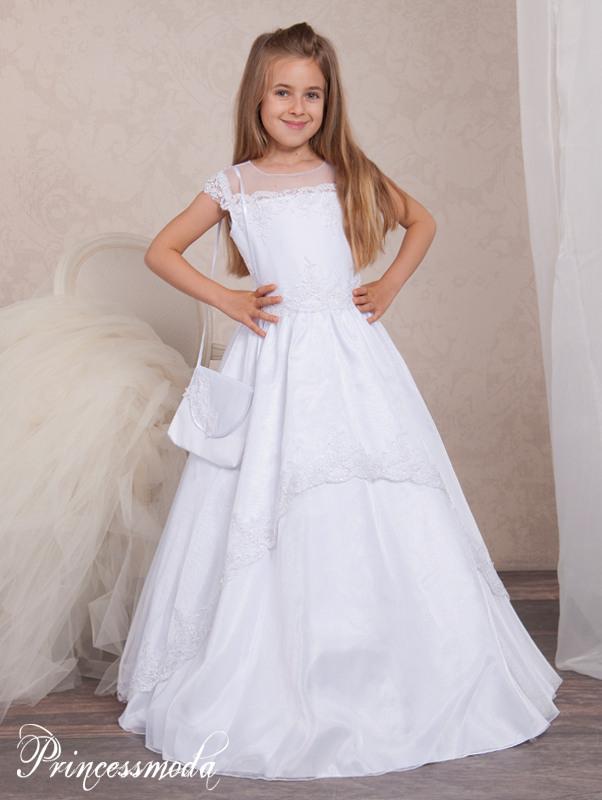 Lilly - Hochelegantes Kommunionkleid Für Ihre Prinzessin