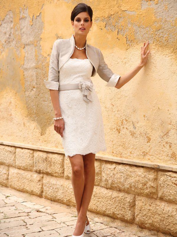 Linea Raffaelli Brautkleider  Kurze Elegante Kleider