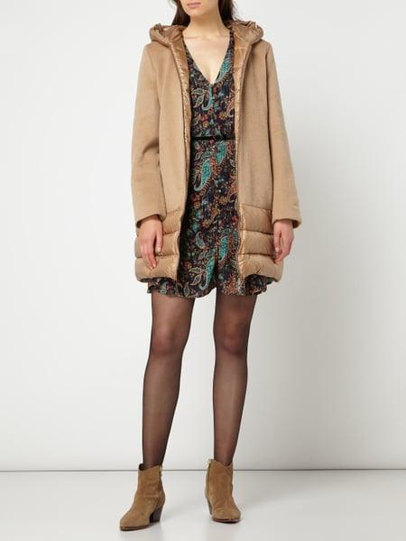 Liu Jo Jeans Kleid Mit Effektgarn Und Taillengürtel In