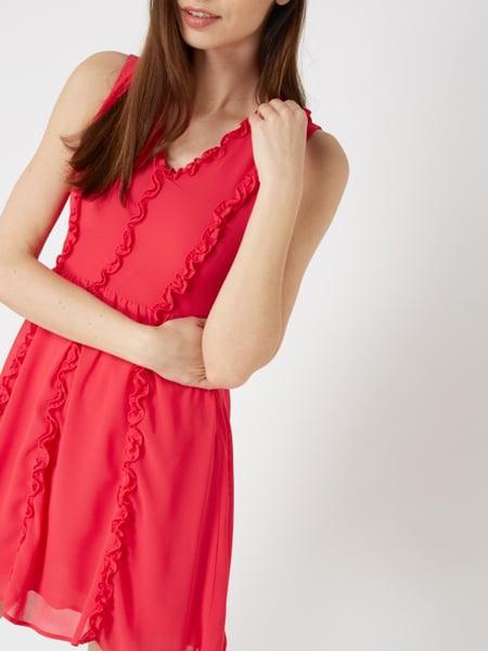 Liu Jo Jeans Kleid Mit Rüschenbesatz In Rosé Online Kaufen