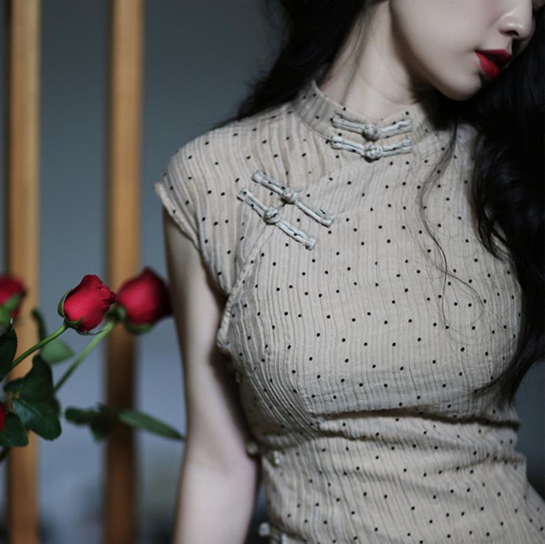 Liziqi Qipao Kleid/Cheongsam Kleid / Chinesische Qipao