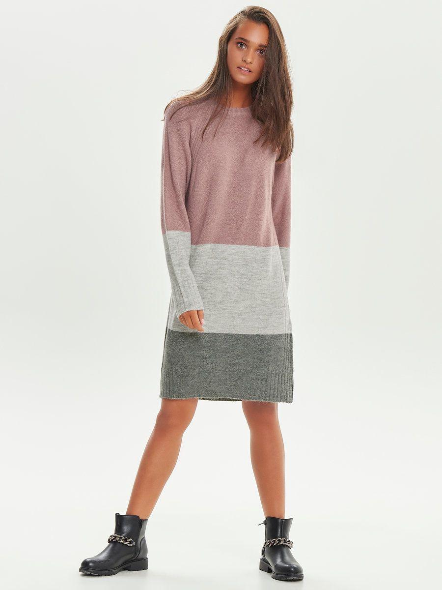 Lockeres Strickkleid  Strickkleid Kleider Und Modetrends