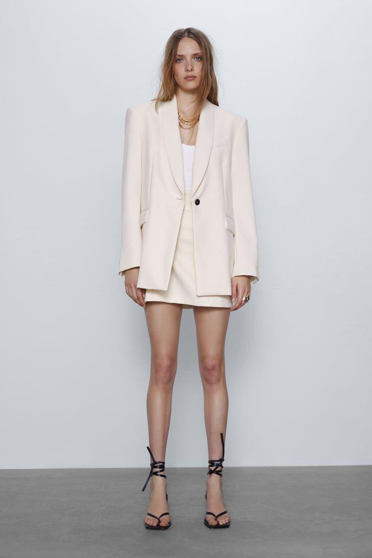 Long Coat  Zara United States In 2020  Zara Damen