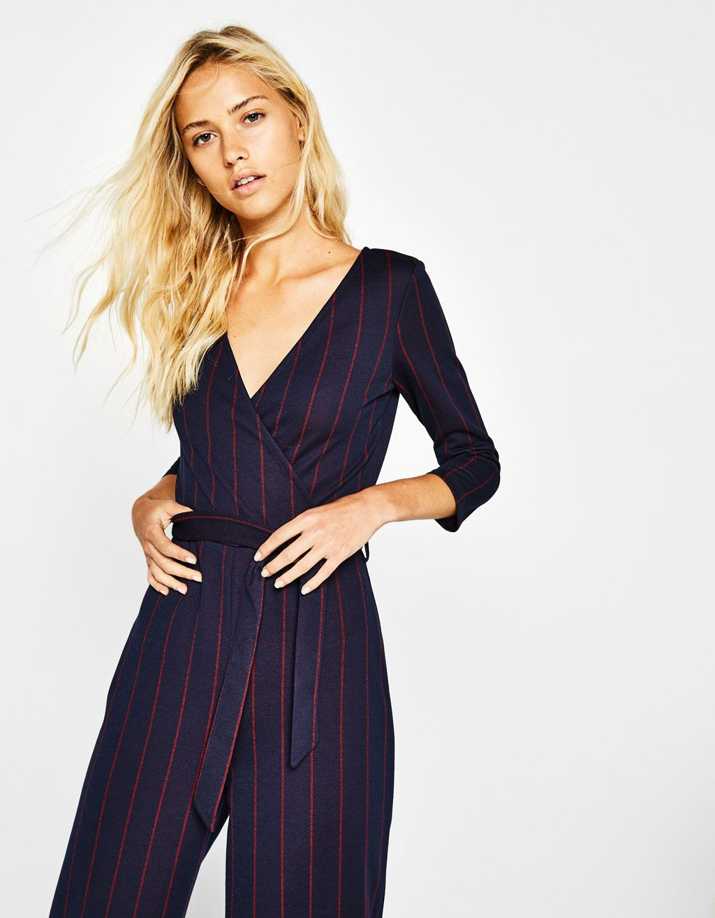 Long Jumpsuit With Belt Discover This And Many More Items