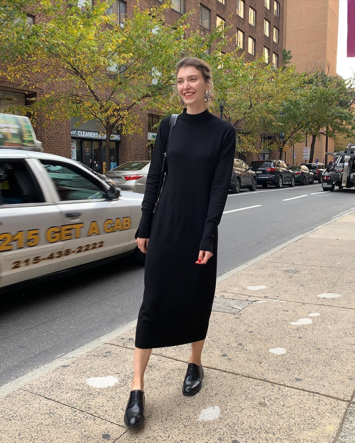 Long Merino Dress  Cosstazialitvin  Kleider