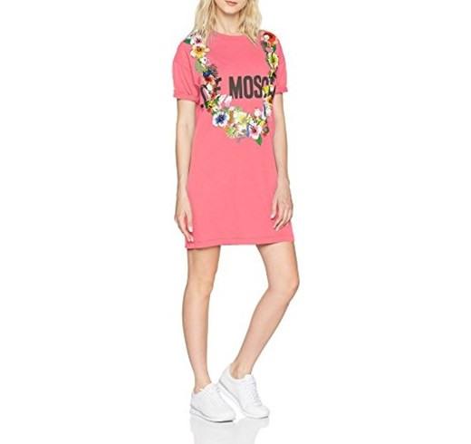 Love Moschino Kleid Amazon Rosa  Stileoit