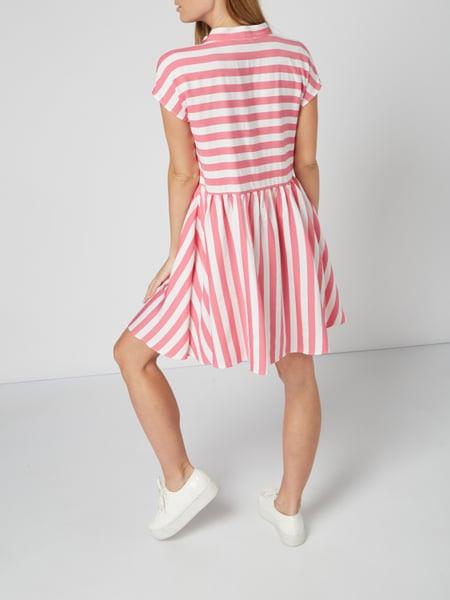 Love Moschino Kleid Mit Streifenmuster In Rosé Online