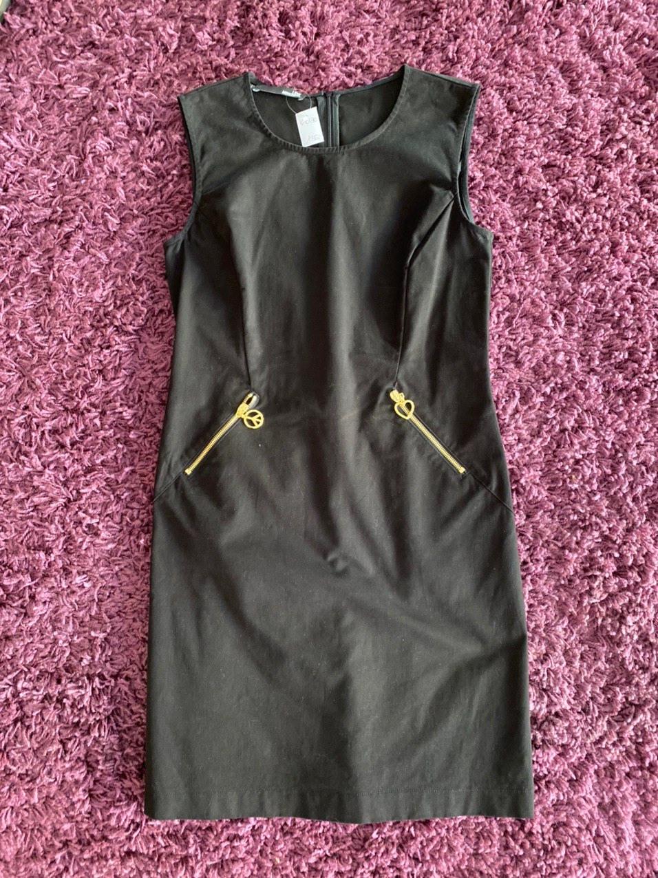 Love Moschino Kleid Schwarzgr38/40  Hochwertige Mode