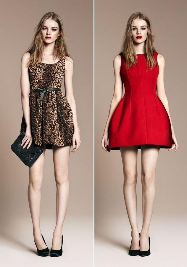 Love Zara  Coole Kleider Rot Anziehen Bohemian Mode