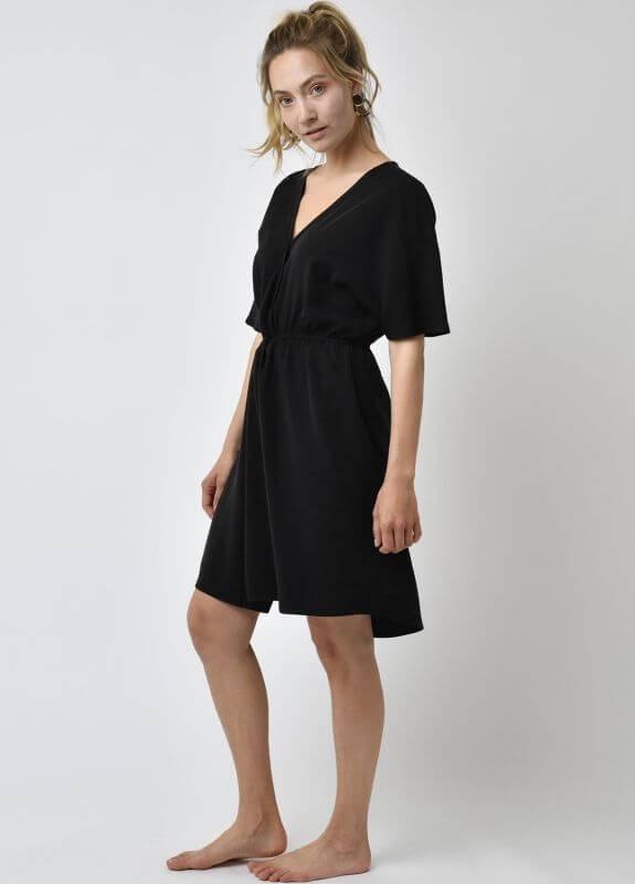 Lovjoi Schickes Kurzarmkleid Erica Black Im Online Shop