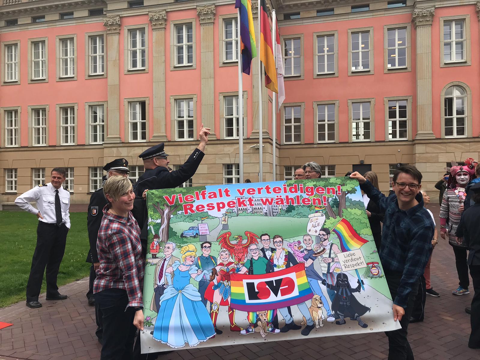 Lsvdwahlprüfsteine Zur Landtagswahl In Brandenburg  Lsvd