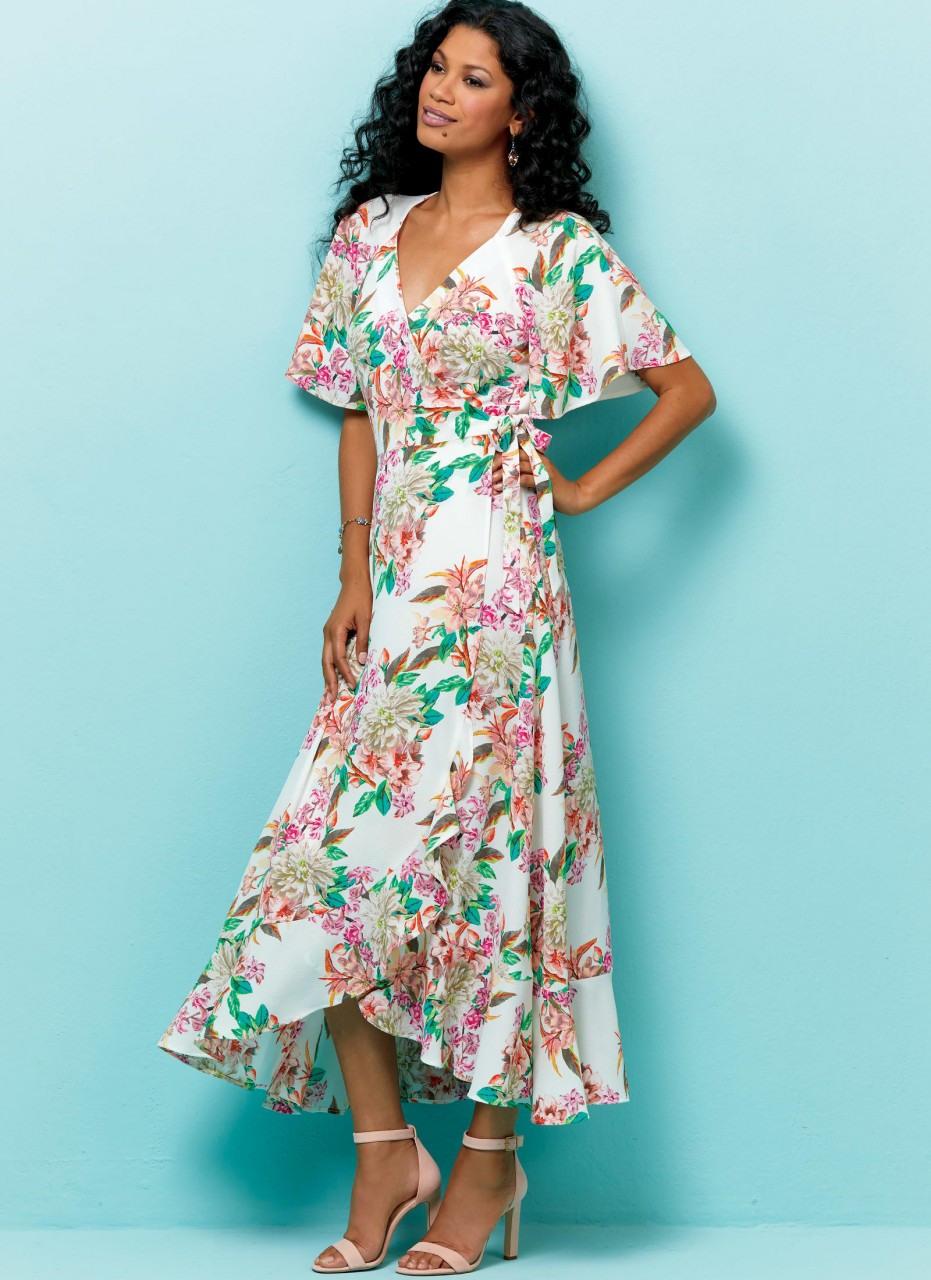 Luftiges Sommerkleid Mit Ärmel Variationen  Kleider