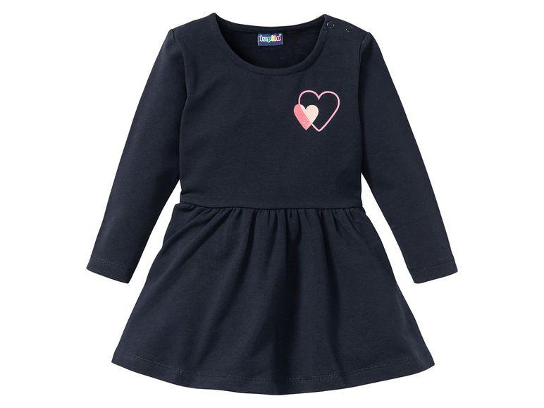 Lupilu® Kleider Mädchen Frenchterryqualität Mit Bio