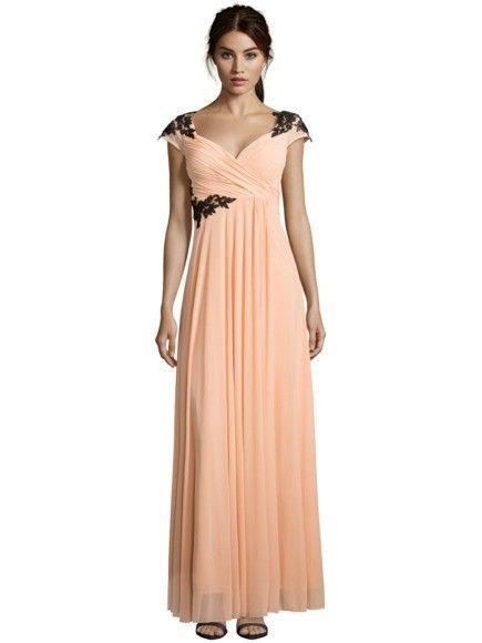 Luxuar Abendkleid Mit Spitzenbesatz In Rosé Online Kaufen