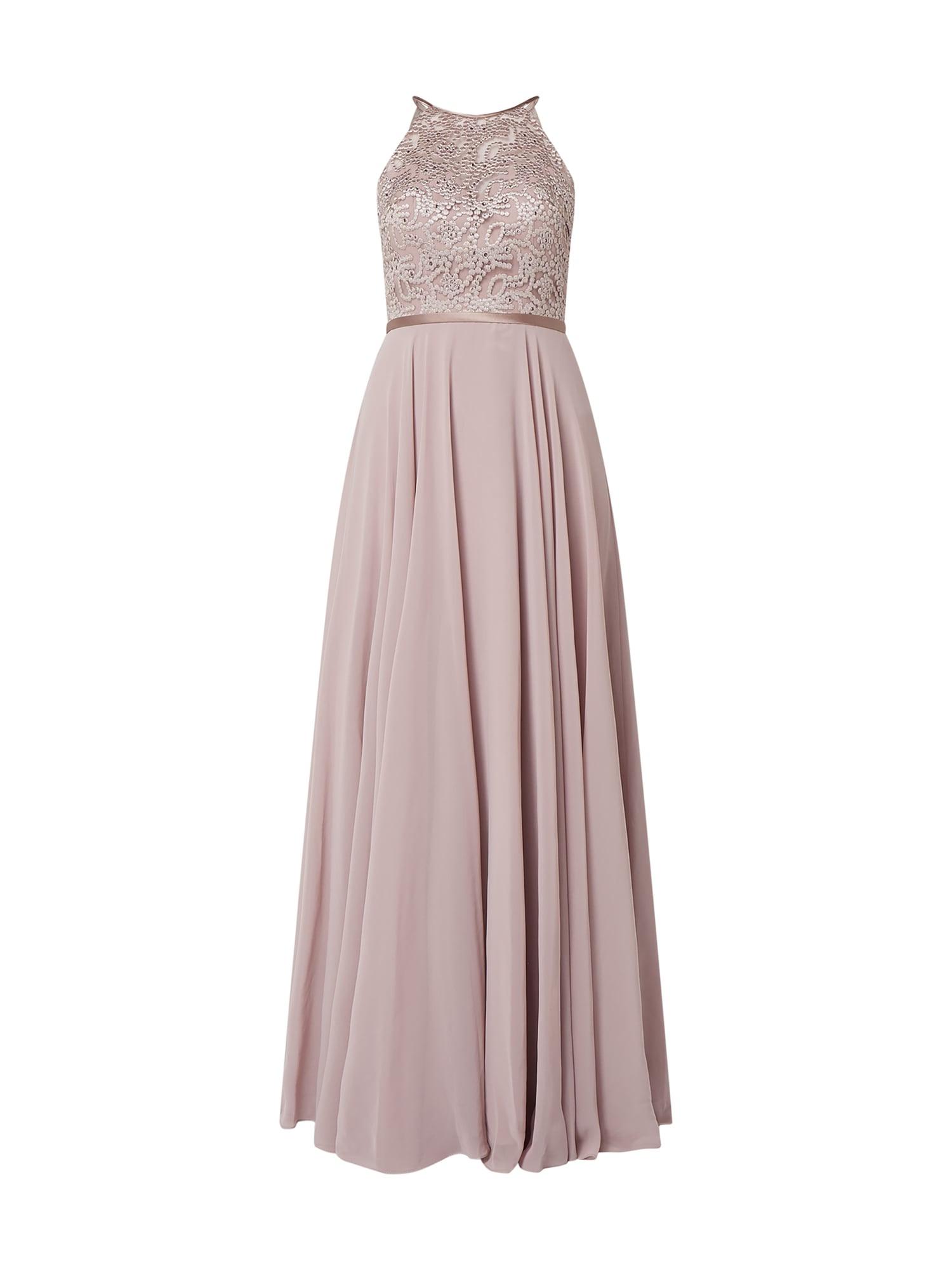 Luxuar Abendkleid Mit Ziersteinen In Lila Online Kaufen