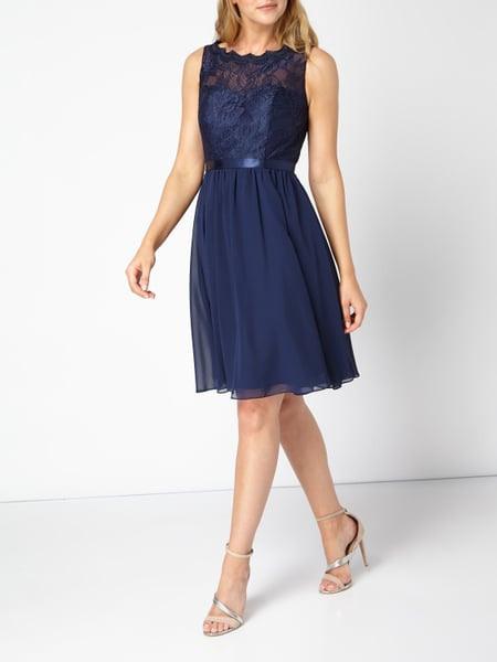Luxuar Kleid Peek  Cloppenburg Cocktailkleid M Spitze