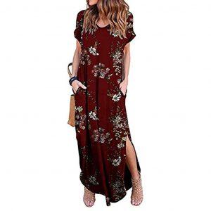 Luxurius Sommerkleid Mit Ärmel Design  Abendkleid