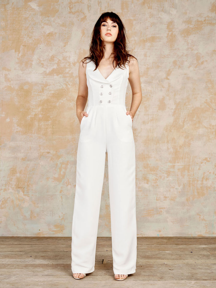 Luxury Bridal Jumpsuits Playsuits  Sexy Separates