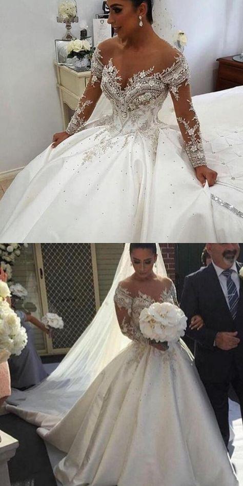 Luxus Hochzeitskleider Prinzessin  Elegante Brautkleider