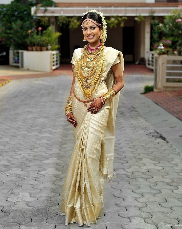 Luxusfrisuren Für Kerala Saree  Neue Haare Modelle