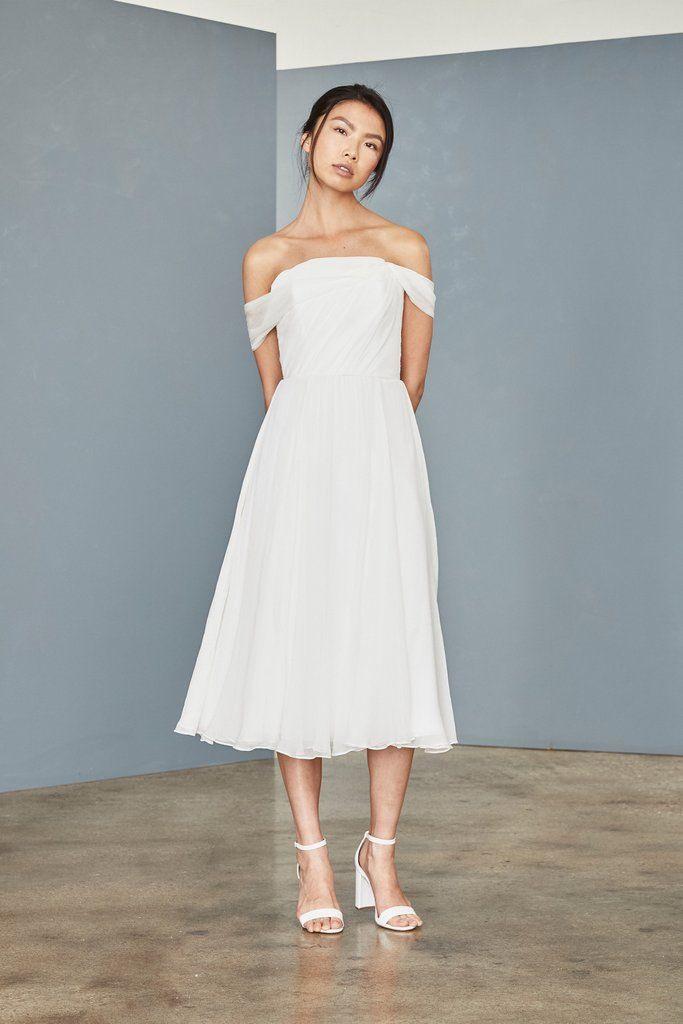 Lw145  Silk Chiffon Midi Dress  Hochzeit