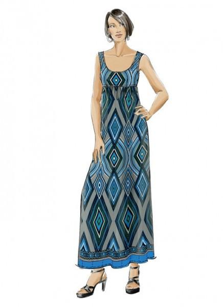 M5893 Damen Kleid Schnittmuster Von Mccalls  Sommer